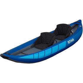 NRS STAR Raven II Inflatable Kayak blue
